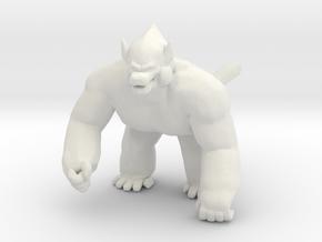 Dragon Ball Great Ape kaiju monster miniature game in White Natural Versatile Plastic