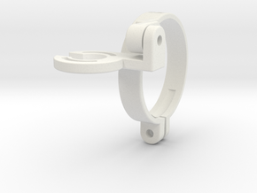 JJ-CCR NERD holder (strap type) in White Natural Versatile Plastic
