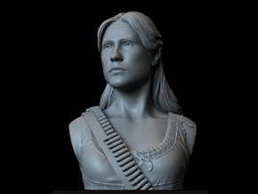 Dolores Abernathy from Westworld. in White Natural Versatile Plastic