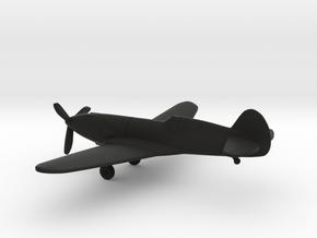Curtiss YP-37 in Black Natural Versatile Plastic: 1:160 - N