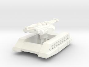 "Erets Mk2-a Siege Tank ""Anvil"" in White Processed Versatile Plastic"