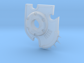 Chaos Knight Laser Destructor Shield in Smoothest Fine Detail Plastic