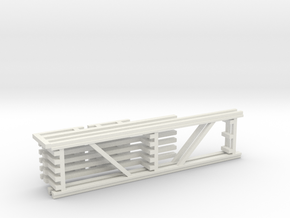 36X144 & 96 Beam Kit 1-87 HO Scale in White Natural Versatile Plastic