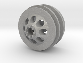 WPL dually wheel front in Aluminum