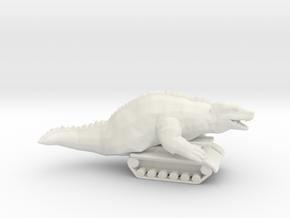 Ultraman Dinosaur Tank monster miniature games rpg in White Natural Versatile Plastic
