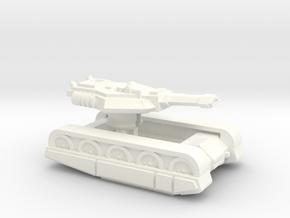 "Erets Mk1-a Seige Tank ""Anvil"" in White Processed Versatile Plastic"