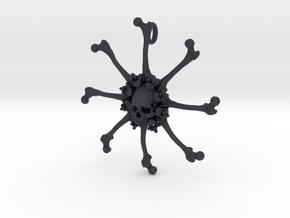 Vehmic Bone Pendant in Black PA12