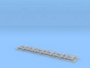 1/87 Z/U/Gw/001  in Smoothest Fine Detail Plastic