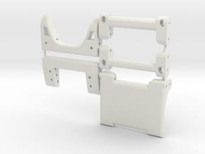 Team Edition Brace Kit in White Natural Versatile Plastic