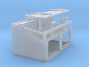 1/50th Speed Loader Bucket for Excavator in Smooth Fine Detail Plastic