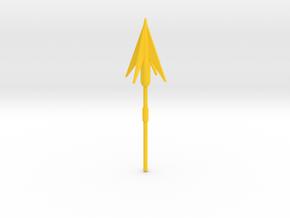Longtooth Harpoons in Yellow Processed Versatile Plastic