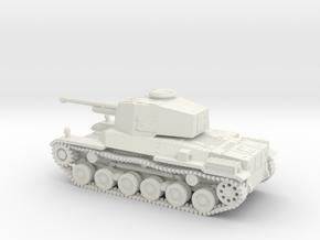 1/87 IJA Type 3 Chi-Nu Medium Tank in White Natural Versatile Plastic