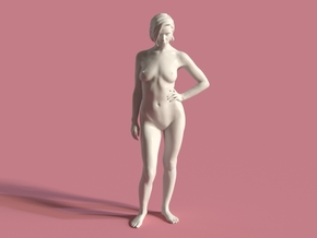 Anais - Daring - Scale 1:4 in White Natural Versatile Plastic
