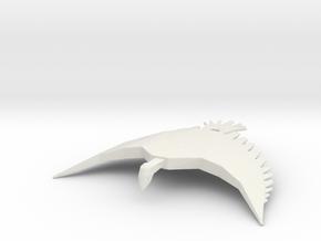 Romulan Hell Hawk in White Natural Versatile Plastic