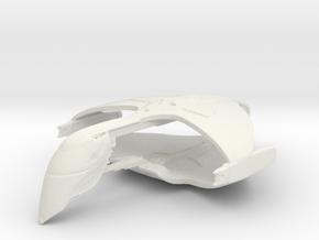 Romulan Warbird in White Natural Versatile Plastic