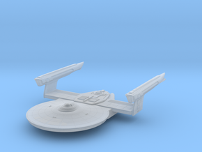Federation Banks Class Frigate TMP in Smooth Fine Detail Plastic