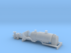 BROAD 4-4-0T - BODY in Smooth Fine Detail Plastic
