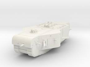 K-Wagen Tank 1/76 in White Natural Versatile Plastic