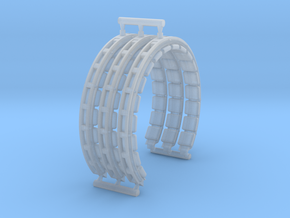 DeAgo Falcon Corridor Ring 3-Pack in Smooth Fine Detail Plastic