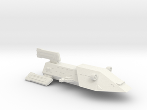 3788 Scale Kzinti Fast Battlecruiser (BF) SRZ in White Natural Versatile Plastic