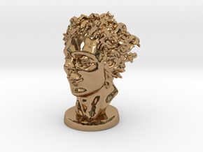 The Kid In April 3 Inches Tall in Polished Brass