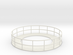 Walkway 3 - HOscale in White Natural Versatile Plastic