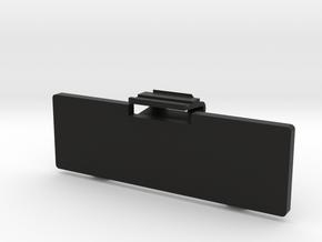 Techsonic J-1 Boombox Clock Cover in Black Natural Versatile Plastic