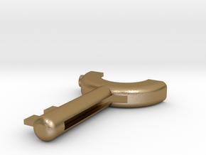Resident Evil 3: Winder Key in Polished Gold Steel