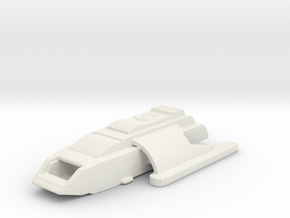 Runabout  in White Natural Versatile Plastic