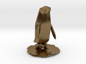 Penguin in Natural Bronze