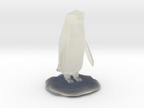 Penguin in Transparent Acrylic