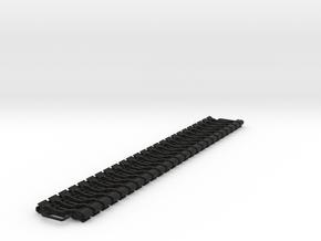 OO NEM Dummy Knuckle Coupling (Large) x50 in Black Natural Versatile Plastic