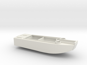 1/128 Scale 36 ft LCP(R) USN in White Natural Versatile Plastic