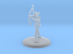 D&D Wilden Seeker with Bow and Arrow Mini in Smooth Fine Detail Plastic
