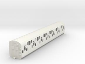 0-76-bulleid-dd-emu-trailer-coach in White Natural Versatile Plastic