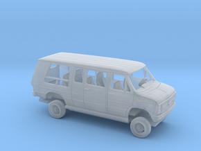 1/87 1984  Chevrolet G Van Low Conversion Kit in Smooth Fine Detail Plastic