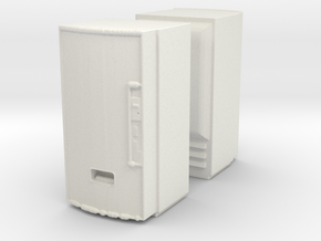 Soda machine (x2) 1/100 in White Natural Versatile Plastic