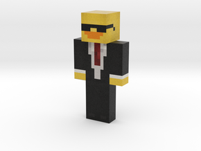 DuckyMinecraft   Minecraft toy in Natural Full Color Sandstone