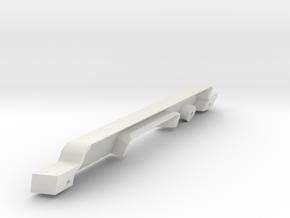 JaBird RC G6 3D Dashboard - V1 in White Natural Versatile Plastic