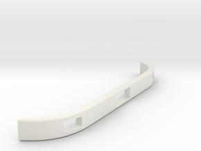 Unimog U404 Bumper 1:10 in White Natural Versatile Plastic: 1:10