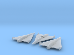 (1:144)(x3) Horten Supersonic Cruise Missile in Smooth Fine Detail Plastic