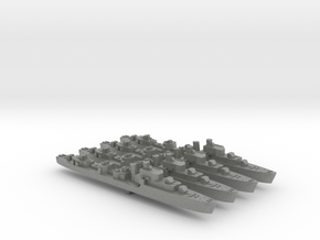4pk S class British Destroyers 1:2400 WW2 in Gray PA12