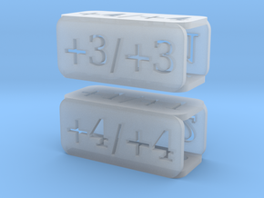 Counters for Magic MTG x2 in Smooth Fine Detail Plastic
