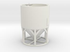 1/64 scale, Overhead Bin. part 1 of 3 in White Natural Versatile Plastic
