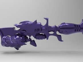Dark Eldar- Space Elf - Blaster - With Hand - x10 in Smooth Fine Detail Plastic