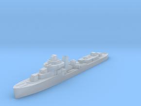 Brazilian Araguaya destroyer 1:1800 post WW2 in Smoothest Fine Detail Plastic