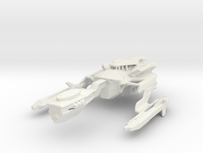 Klingon Vodleh Carrier in White Natural Versatile Plastic