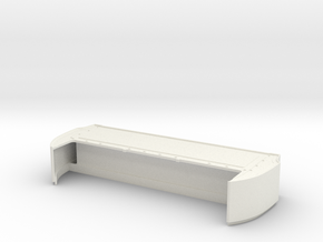 Bed Extension -12.75 In. Wheelbase for RC4WD Blaze in White Natural Versatile Plastic