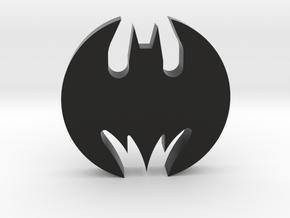 Batmobile Hubcap 1:1 Scale in Black Natural Versatile Plastic