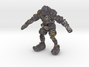 Mountain Troll in Full Color Sandstone
